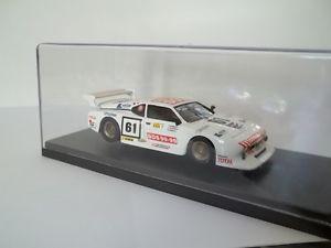 【送料無料】模型車 モデルカー スポーツカー ミニレーシングディルマンmini racing sc143 bmw m1 gr5 24h di le mans 1982,realdy built
