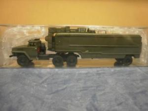 【送料無料】模型車 モデルカー スポーツカー モデルトラックウラルロケットrk modelle lkw ural 4320d sz zimezh raketen
