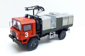 【送料無料】模型車 モデルカー スポーツカー スイスsaurer 6 dm 4x4 swiss army fire brigade tekhoby 187 8704