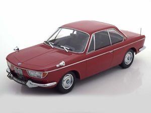 【送料無料】模型車 モデルカー スポーツカー クーペダークレッドスケールbmw 2000 cs coup dark red 1965 kk scale 118 180122