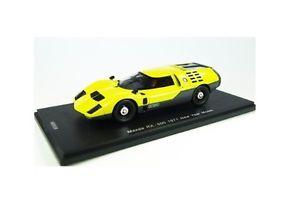 【送料無料】模型車 モデルカー スポーツカー マツダスパークkbsmazda rx500 yellow 1971 spark 143 kbs038