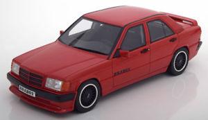【送料無料】模型車 モデルカー スポーツカー オットーメルセデス118 otto mercedes brabus 190e 36s w201 red