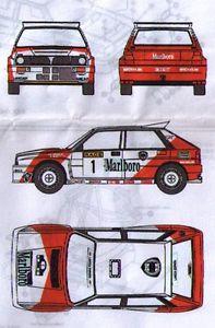 【送料無料】模型車 モデルカー スポーツカー キットプロトランチアラリーkエスパーニャkit lancia delta proto mo rallye tierra espana 1991  emmebi 026k