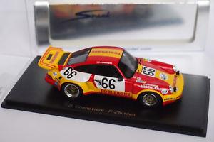 【送料無料】模型車 モデルカー スポーツカー スパークポルシェカレラ#ルマンspark porsche 911 carrera rsr 66 le mans 1974 143