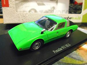 【送料無料】模型車 モデルカー スポーツカー ポルシェプロトタイプドイツグリーングリーンカルトporsche 911 hls prototyp deutschland green grn studie resin autocult 143