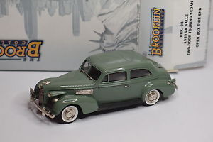 【送料無料】模型車 モデルカー スポーツカー ドアセダンツーリングbrooklin brk 98 1939 la salle two door touring sedan 143
