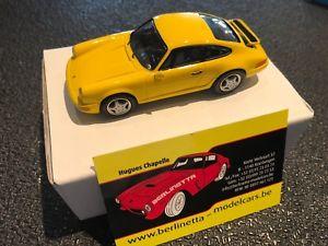 【送料無料】模型車 モデルカー スポーツカー ポルシェイエローエクスアンプロヴァンスムラージュキットporsche 911 rs 90 yellow 143 built provence moulage kit