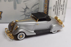 【送料無料】模型車 モデルカー スポーツカー コマンダーロードスターbrooklin brk 93x 1935 studebaker commander roadster ctcs 2003 special 143