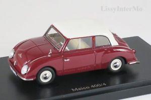 【送料無料】模型車 モデルカー スポーツカー ドイツカルトmaico 4004 germany, 1955 autocult 143 neuovp