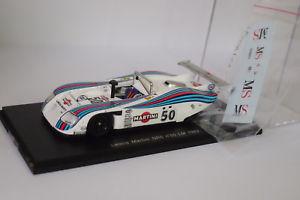 【送料無料】模型車 モデルカー スポーツカー スパークランチアマティーニ#ルマンspark lancia martini gr6 50 le mans 1982 143