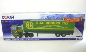 【送料無料】模型車 モデルカー スポーツカー ボルボトレーラーロジャースイングランドvolvo f10 tilt trailer emrogers ltd england