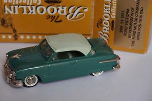 【送料無料】模型車 モデルカー スポーツカー フォードビクトリアbrooklin brk 51 1951 ford victoria 143