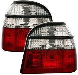【送料無料】模型車 モデルカー スポーツカー テールランプゴルフ taillights vw golf 3 iii 1991 1997 red white sv ltvw97es xino ch