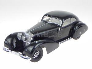 【送料無料】模型車 モデルカー スポーツカー メルセデスベンツブラックモデルカーmercedes benz 540k autobahnkurier 38 schwarz modellauto 18008 kk 118