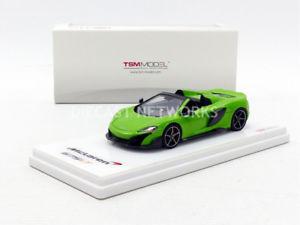 【送料無料】模型車 モデルカー スポーツカー ミニチュアマクラーレンスパイダーtruescale miniatures 143 mclaren 675lt spider 2016 tsm430203