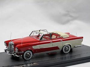 【送料無料】模型車 モデルカー スポーツカー マトリックススケールモデルギアメルセデスベンツカブリオレガタmatrix scale models 1956 ghia mercedesbenz 300c allungata cabriolet 143