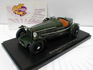 【送料無料】模型車 モデルカー スポーツカー ダークグリーンリッターカルトautocult 02004 alvis speed 20 sa 43 litre baujahr 1933 in dunkelgrn 143