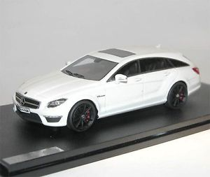【送料無料】模型車 モデルカー スポーツカー モデルメルセデスブレーキモデルホワイトglmgreat lighting models, mercedes amg cls63 shooting brake smodel white, 143