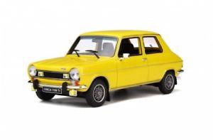 【送料無料】模型車 モデルカー スポーツカー イエローオットーモデルsimca 1100 ti gelb 1975 ot597 118 otto models