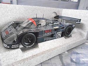 【送料無料】模型車 モデルカー スポーツカー メルセデスベンツスパ#バルディヨハンソンsauber mercedes benz grc c9 1988 spa 62 baldi johansson aeg olympia norev 118