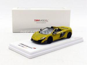 【送料無料】模型車 モデルカー スポーツカー ミニチュアスパイダーtruescale miniatures 143 mclaren 675 lt spider 2016 tsm430202