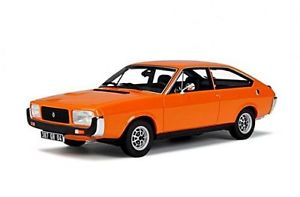 【送料無料】模型車 モデルカー スポーツカー ルノーオレンジオットーモデルrenault 15 gtl 1979 orange 118 otto models