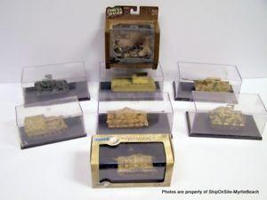 【送料無料】模型車 モデルカー スポーツカー ヴィンテージロットタンクlot of 7 vintage 172 military tanks amp; 1 forces of valor  ***free samp;h***
