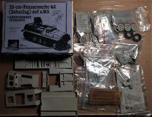 【送料無料】模型車 モデルカー スポーツカー タンクレジンキットnkc modeles 403592vm 15cm panzerwerfer 42 zehnling auf sws 135 resin kit