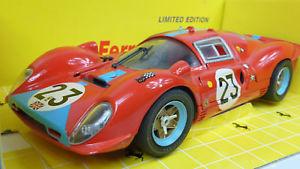 【送料無料】模型車 モデルカー スポーツカー フェラーリ#ルマンjouef revell 118 nr 48826 ferrari 412p 23 le mans 1967 in ovp a688
