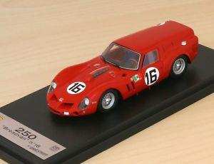 【送料無料】模型車 モデルカー スポーツカー フェラーリルマンferrari 250 gt breadvan n16 24h du mans 196 looksmart lslm015 143
