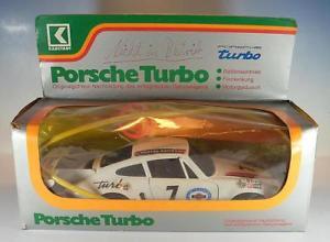 【送料無料】模型車 モデルカー スポーツカー ポルシェターボリモートステアリング#karstadt ca 116 porsche turbo fernlenk auto 70er jahre ovp 1279