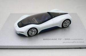 【送料無料】模型車 モデルカー スポーツカー マセラティマセラティコンセプトミニmaserati birdcage pininfarina concept 2005 mini miniera mmpf004 143