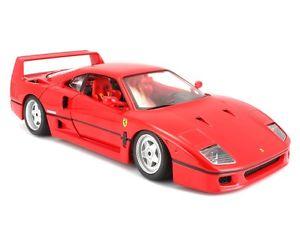 【送料無料】模型車 モデルカー スポーツカー フェラーリオリジナルシリーズタイプburago 118 auto ferrari f40 original series art 1816601