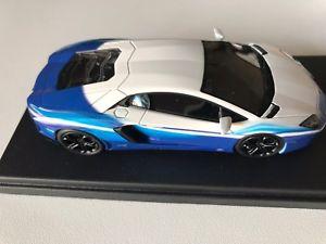 【送料無料】模型車 モデルカー スポーツカー ボーランボルギーニドリームライナーls384bo by looksmart lamborghini aventador lp7004 dreamliner 143