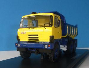 【送料無料】模型車 モデルカー スポーツカー タトラスケールモデルtatra 815 s1 kipper 1982 _ ssm 143 start scale models neu ovp