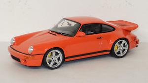 【送料無料】模型車 モデルカー スポーツカー ruf 911 964 scr 42 gtspirit 118