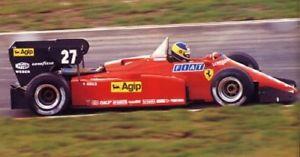 【送料無料】模型車 モデルカー スポーツカー キットフェラーリヨーロッパkit ferrari 126 c4m2 gp europa 1984 m alboreto r arnoux tameo tmk420