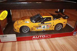【送料無料】模型車 モデルカー スポーツカー コルベットautoart corvette c6r