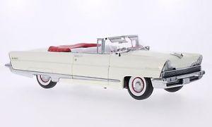 【送料無料】模型車 モデルカー スポーツカー リンカーンサンlincoln premiere convertible, weiss, 118, sun star