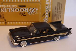 【送料無料】模型車 モデルカー スポーツカー ドアハードトップデソトbrooklin brk 82 1959 desoto adventurer twodoor hardtop 143