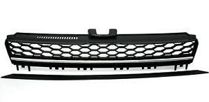 【送料無料】模型車 モデルカー スポーツカー передняярешеткадляゴルフтиптипахромпередняя решетка для vw golf 7 vii r тип типа хром ch grvw12e1 xino ch