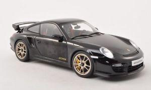 【送料無料】模型車 モデルカー スポーツカー ポルシェグアテマラブラックカーボンporsche 911 997 gt2 rs, schwarzcarbon, 118, autoart
