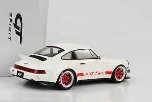 【送料無料】模型車 モデルカー スポーツカー ポルシェカレラソフトウェアライセンスダックテールホワイトレッドグアテマラ