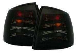 【送料無料】模型車 モデルカー スポーツカー テールランプオペルアストラ taillights opel astra g 9704 3d 5d smoke sv ltop48es xino ch