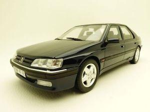 【送料無料】模型車 モデルカー スポーツカー プジョーpeugeot 605 sv24 bleu nuit 118 v6