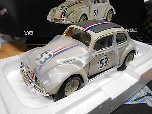 【送料無料】模型車 モデルカー スポーツカー フォルクスワーゲンフォルクスワーゲンビートルバグ#モンテシネマホットホイールエリートvw volkswagen beetle kfer herbie 1962 53 monte kino movi hot wheels elite 118