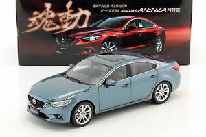 【送料無料】模型車 モデルカー スポーツカー マツダアテンザmazda 6 atenza lhd baujahr 2015 blau 118 dorlop