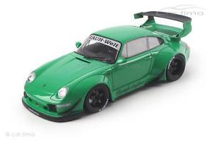 【送料無料】模型車 モデルカー スポーツカー ポルシェグアテマラporsche 911 993 rwb grn 1 of 1500 gt spirit 118 gt074