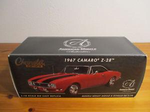 【送料無料】模型車 モデルカー スポーツカー シボレーカマロ gor 118 rc2 1967 chevrolet camaro z28 neu ovp