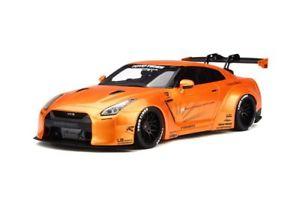 【送料無料】模型車 モデルカー スポーツカー ポンドオレンジモデルカーlb nissan gtr r35 orange, modellauto 118 gt spirit